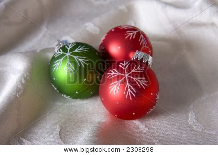 Three Ornaments