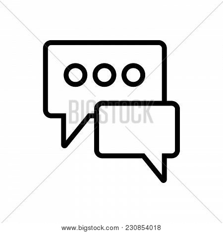 Texting Vector Icon On White Background. Texting Modern Icon For Graphic And Web Design. Texting Ico