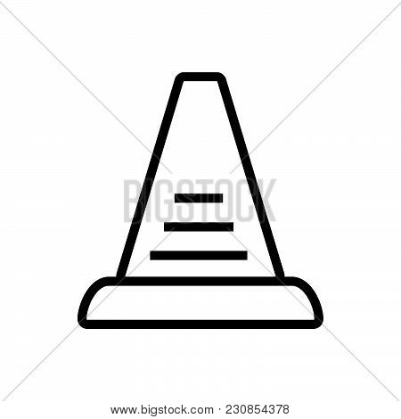Stairs Outlined Symbol Of Stepladder, Stairs Vector Icon, Stairs Icon Eps