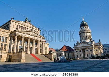 The Gendarmenmarkt in Berlin