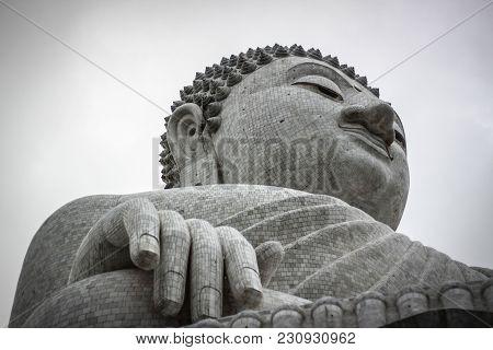 The 45 Metre Tall Big Buddha. Phuket Chalong