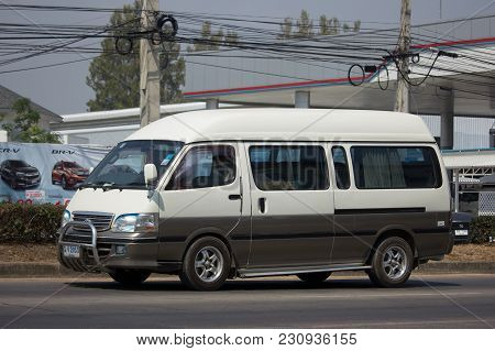 Private Toyota Hiace Old Van Car.