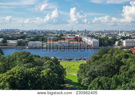 View Of Saint-petersburg, Russia