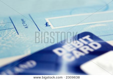 Cheque Book & Credit Card
