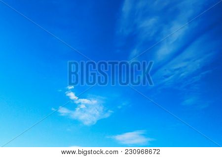The Blue Sky With Rare Clouds, Summer