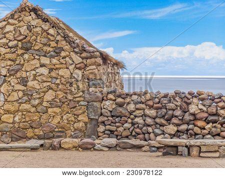 Village Of Colchani In Bolivia South America Salar De Uyuni