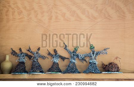 Sufi Dervish figurine model in small size in view poster