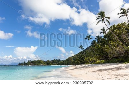 Marvelous Tropical Beach On Silhouette Island, Seychelles