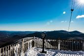 Cannon Mountain in Franconia, NH via Hi-Cannon, Kinsman Ridge, and Lonesome Lake Trails poster