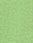 Faded Jade Faint Floral print on Ribbed Paper Background poster