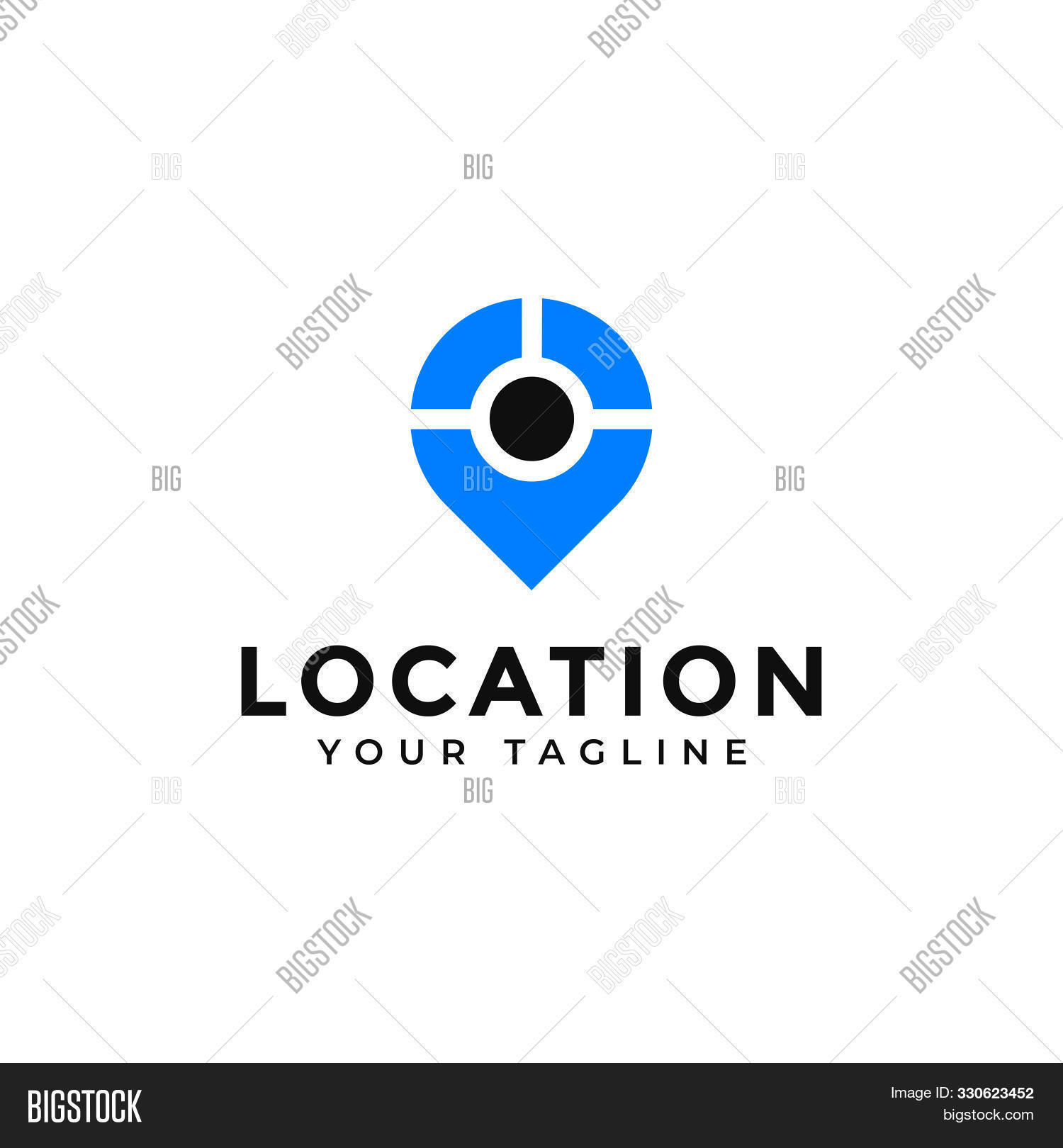 Location, Point, Gps Vector & Photo (Free Trial) | Bigstock