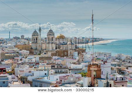 Panorama Of Cadiz, Spain