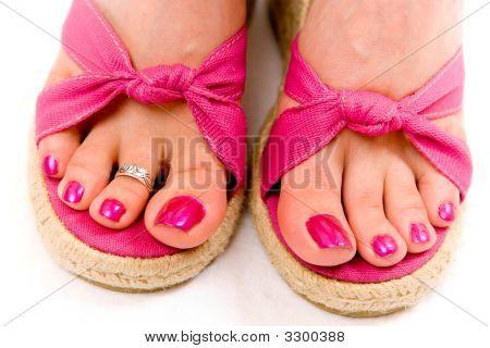 Pretty Female Feet