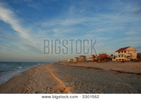 Sandy Beach At St George Island, Florida