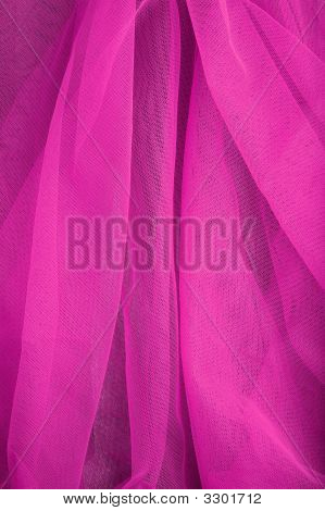 abstract background violet veil fabric with waves poster