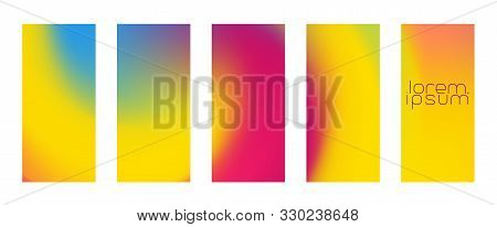 Trendy Smartphone High Resolution Phablet Mobile Abstract Background Vector. Trendy Mesh Stain Flush