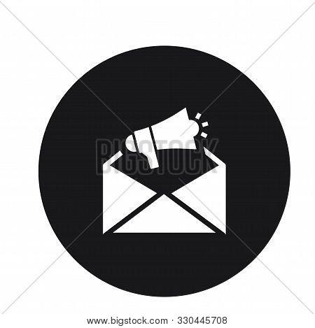 Envelope Icon Design Vector Illustration For Web