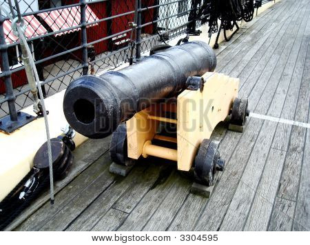 Old 19Th Century Cannon