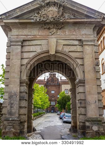 Trier, Germany - April 29, 2015: St. Maximins Abbey, One Of The Oldest Monasteries In Western Europe