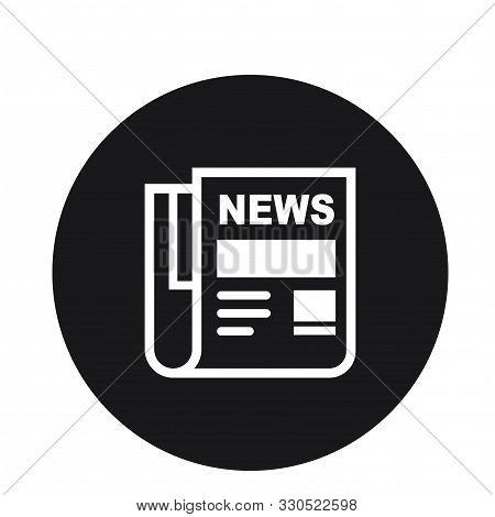 News Paper Newsletter Icon Design For Web