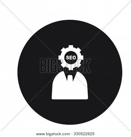 Assistance Business Businessman Seo Icon Design For Web