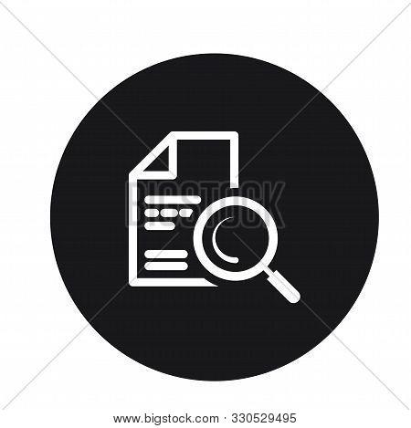 Content File Search Icon Design For Web