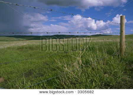 Approaching Prairie Storm