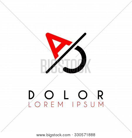 Logo A Slash C With Black Red