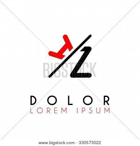 Logo A Slash Z With Black Red