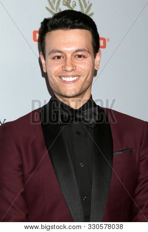 LOS ANGELES - OCT 25:  Nick Halli at the 2019 British Academy Britannia Awards at the Beverly Hilton Hotel on October 25, 2019 in Beverly Hills, CA
