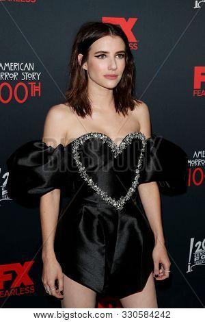 LOS ANGELES - OCT 26:  Emma Roberts at the