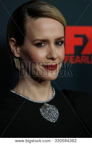 LOS ANGELES - OCT 26:  Sarah Paulson at the