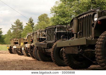 American Army Cars