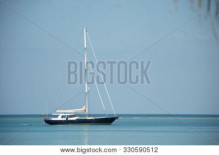 Yacht In Sea Sky