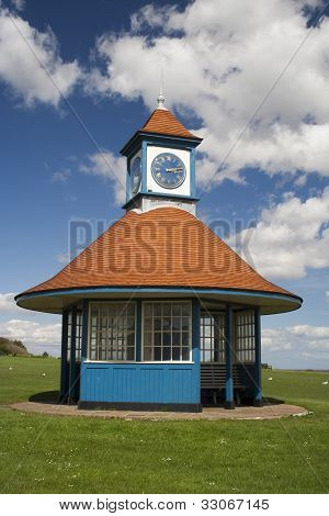 Clock Tower And Shelter, Frinton, Essex, England