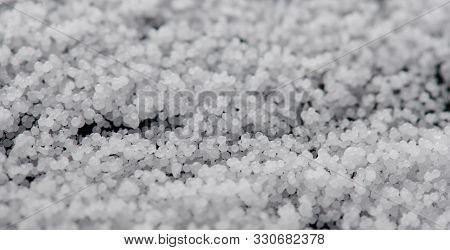 Small White Wax Balls