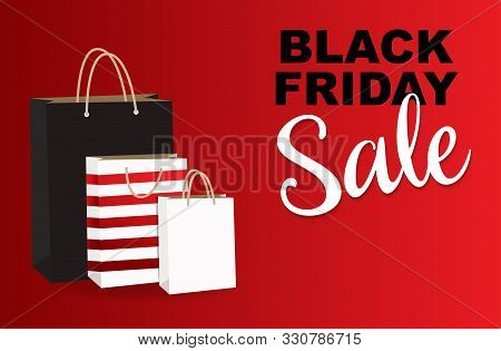 Black Friday. Celebration Black Friday Sale Banner. Black Friday Sale Banner Vector Design Template
