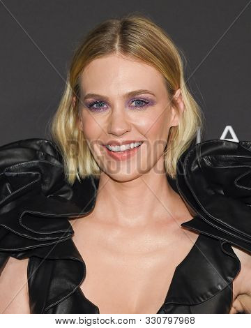 LOS ANGELES - OCT 21:  January Jones arrives for the 2019 InStyle Awards on October 21, 2019 in Los Angeles, CA