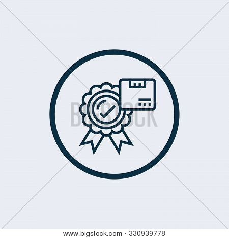Product Release Vector Icon On White Background. Product Release Modern Icon For Graphic And Web Des