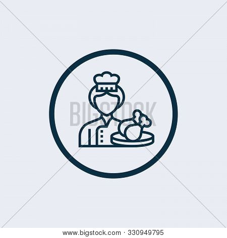 Cooker Icon In Trendy Design Style. Cooker Icon Isolated On White Background. Cooker Vector Icon Sim