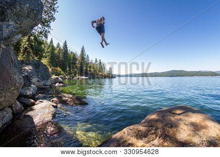 Jumping To The Lake