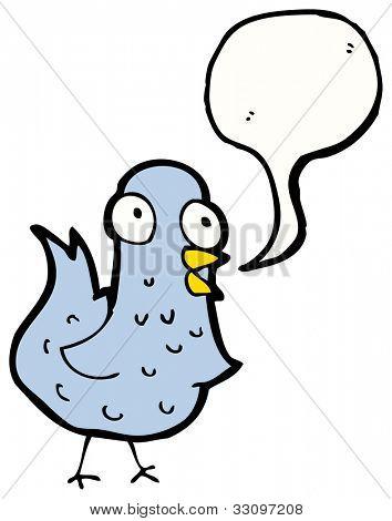 Cartoon zwitschern Vögel