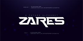 Sport Modern Future Alphabet Font. Typography Urban Style Fonts For Technology, Digital, Movie Logo