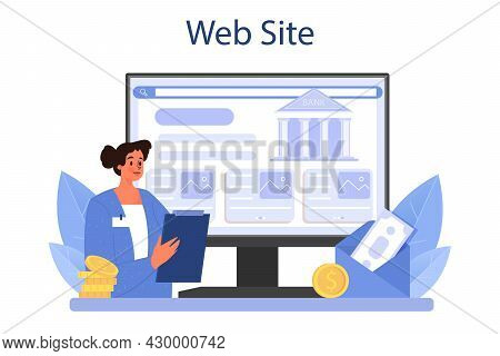 Pension Fund Employee Online Service Or Platform. Specialist Helps