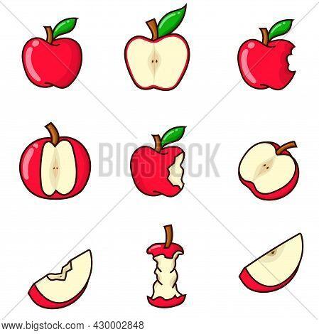 9 Apple Set