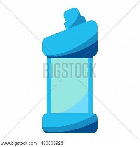 Detergent Bottle Or Container, Cleaning Supplies, Washing Powder Icon. Household Chemical, Plastic B
