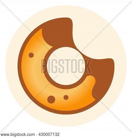 Bakeryswap Bake Token Symbol Of The Defi Project Cryptocurrency Logo In Circle, Decentralized Financ