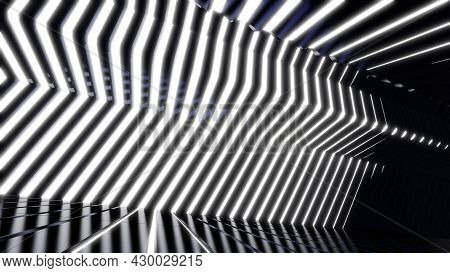 3d Illustration Background For Advertising And Wallpaper In Sci Fi And Technology Innovation Scene.