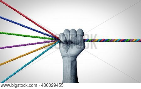 Management Skills Leadership As A Leader Organizing Diverse Ropes Into One Cohesive Rope As A Busine