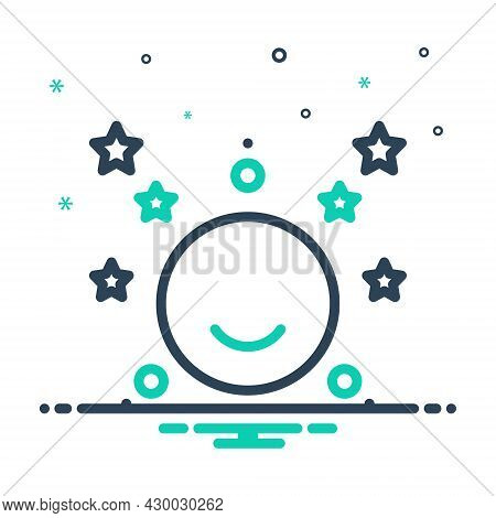 Mix Icon For Moon-stars Moon Stars Crescent Night Celestial Satellite Galaxy Heaven Cosmos Nighttime